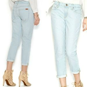Joe's Jeans Cropped Boyfriend Jeans